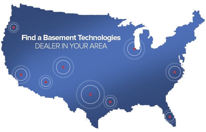 US Dealer map