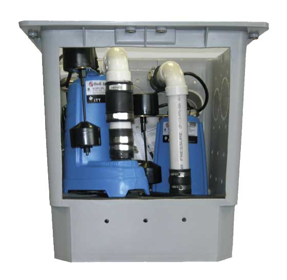 power house sump pump products basement technologies